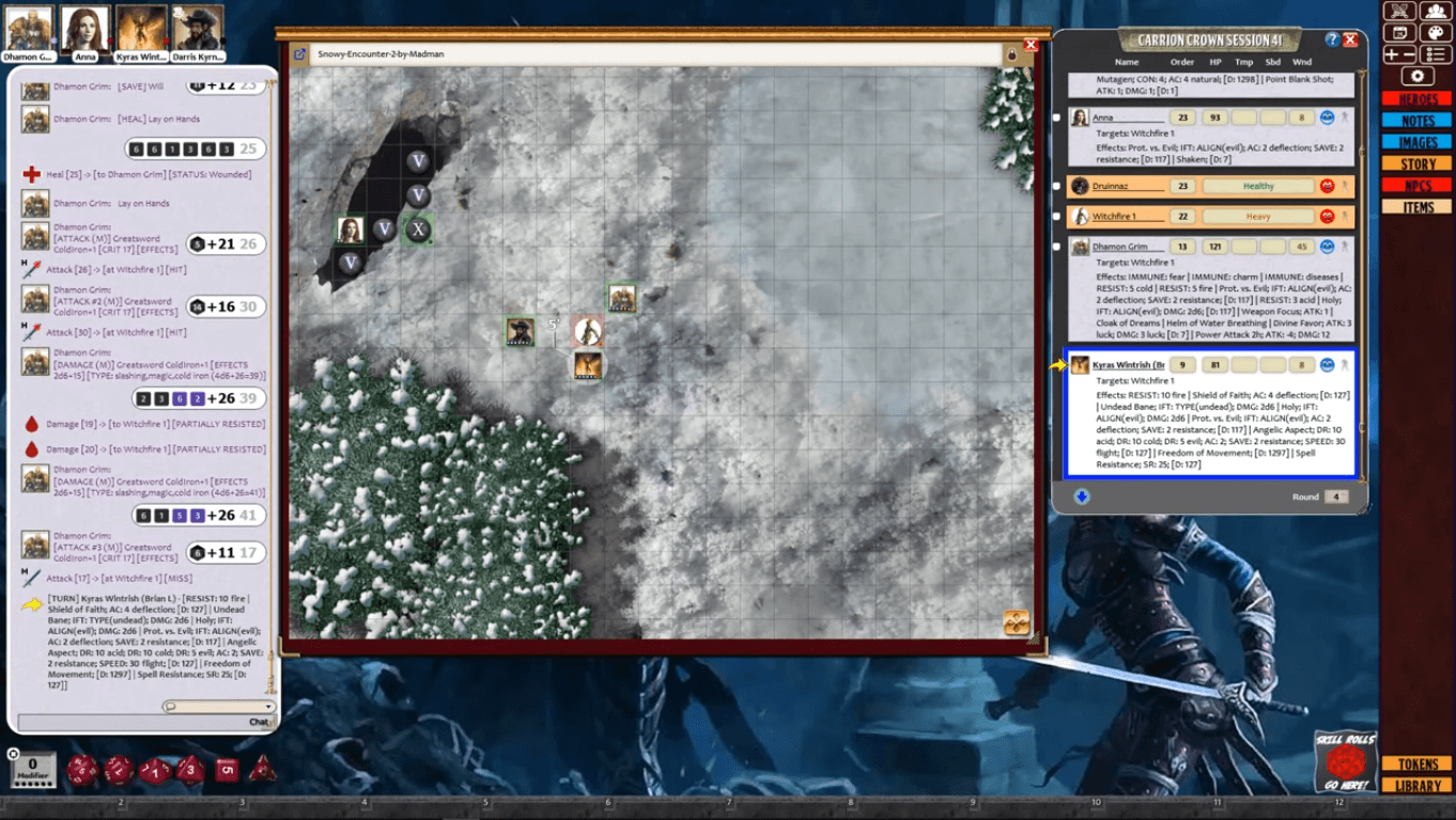 Carrion Crown Session 41 Deeper Into Virlych Forest Gm Wintermute